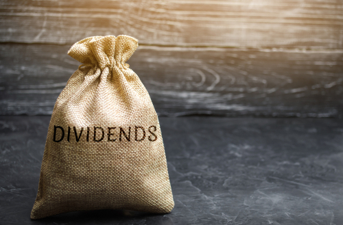 drop of 27 percent in dividends